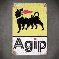 agip tabliczka