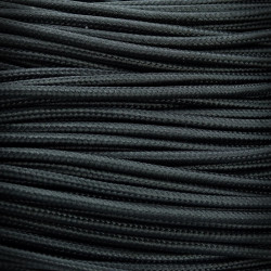 Przewód, kabel elektryczny w oplocie 3x0,75 Czarny