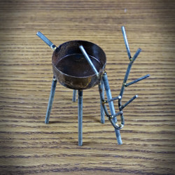 Świecznik na tea light JELEŃ niski