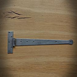 Zawias meblowy KRAWAT 400mm jasnostalowy