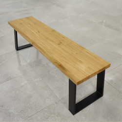 blat dębowy na ławkę, ławę, bar, barek