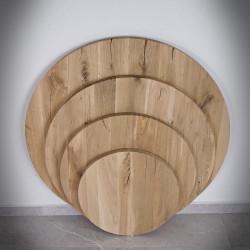 Blat dębowy okrągły ROTUNDA