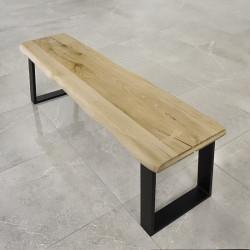 blat dębowy na ławkę rustykalny