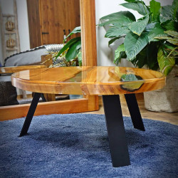 stolik drewniany kawowy