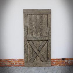drzwi drewniane rustykalne