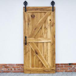 drzwi prowadnica i uchwyt