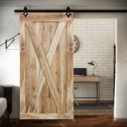 Drzwi przesuwne drewniane dębowe MarX