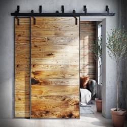 drzwi przesuwne podwójne