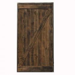 Drzwi przesuwne Z w ramie stalowej SZARPANE