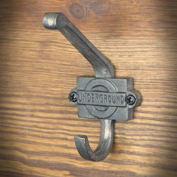 Hak wieszakowy UNDERGROUND 110mm dwuczęściowy