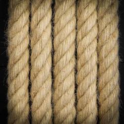 Przewód, kabel elektryczny LINA JUTOWA 2x0,75