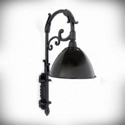 ozdobna lampa ścienna