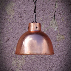 Klosze do lamp RUSTIKA COPPER