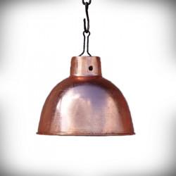 Klosze do lamp RUSTIKA antyczna miedź