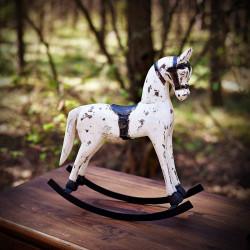 Drewniany koń na biegunach S
