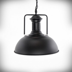 Lampa sufitowa E27 LUCERO czarna