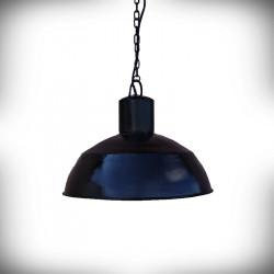 Lampa sufitowa E27 DEKOR RETROS czarna