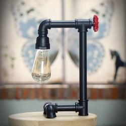 Lampka stojąca z rur NICOLE