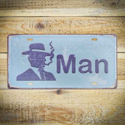 Tabliczka MAN oznaczenie toalety