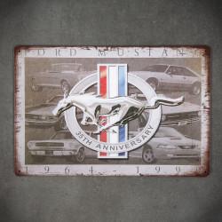 metalowa tabliczka na ścianę