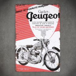 motocykl tabliczka dekoracyjna
