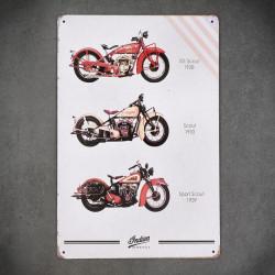 motory tabliczki metalowe