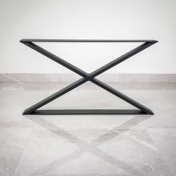 Noga typu X 60x40 cm CZARNA