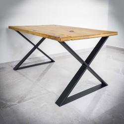 Industrialne nogi do stołów, blatów typu X