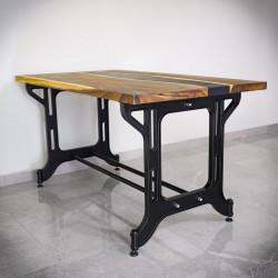 noga stołowa masywna duża