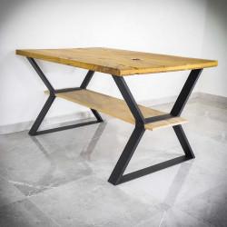 nogi do stołu z dwoma blatami