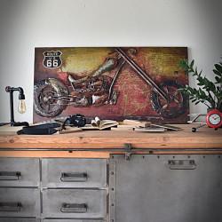 obraz metalowy