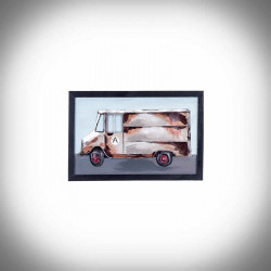 Obrazy 3D samochód dostawczy