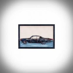 Obraz 3d auto