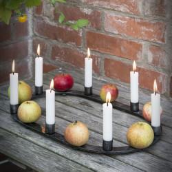 Rustykalny świecznik na stół THOR