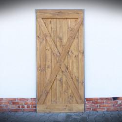 postarzane drzwi przesuwne