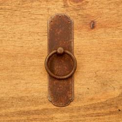 Uchwyt meblowy RUSTYK KOŁATKA 30 X 110 mm z szyldem