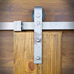 stalowa prowadnica do drzwi