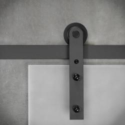 prowadnica drzwi przesuwnych szklanych
