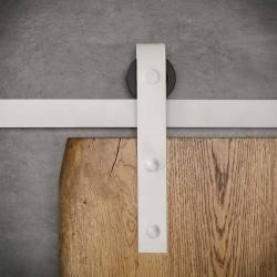 Prowadnica ścienna do drzwi jednoskrzydłowych biała OLD