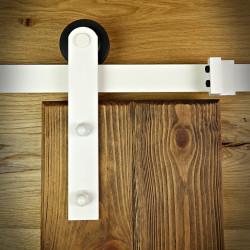 Prowadnica drzwi przesuwnych biała ROKA
