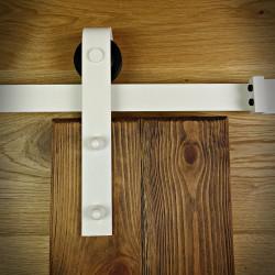 Prowadnica drzwi przesuwnych biała OLD