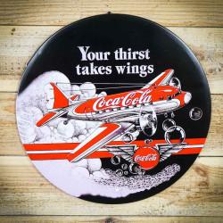 Tabliczka retro ozdobna coca cola