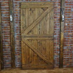 Drzwi drewniane do systemów przesuwnych - 2Z
