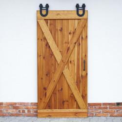 rustykalne drzwi przesuwne zestaw