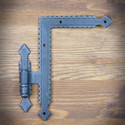 Zawias narożny do drzwi i okiennic 180x130 - OSTATNIE SZTUKI