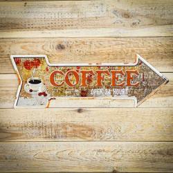 Strzałka kierunkowa coffee