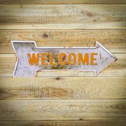 welcome, witamy, stzrałka kierunkowa retro