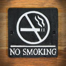 tablica dekoracyjna no smoking