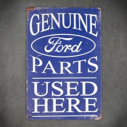 tablica metalowa vintage