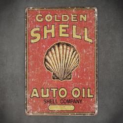 tabliczka metalowa z logo